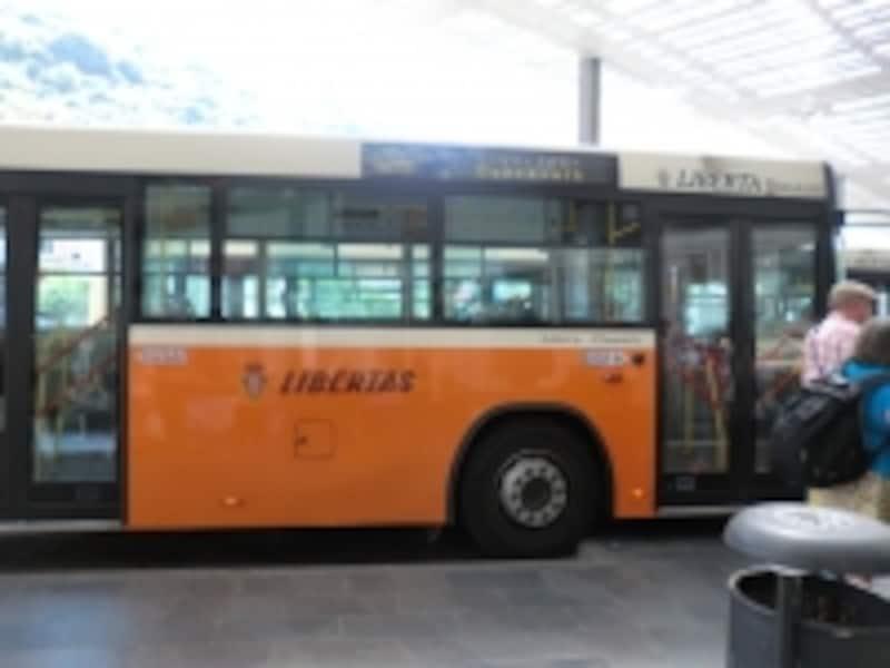 ドブロブニクの市バス