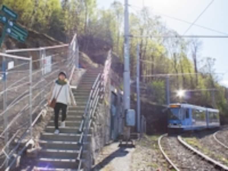 エーケベルグ公園までのアクセス
