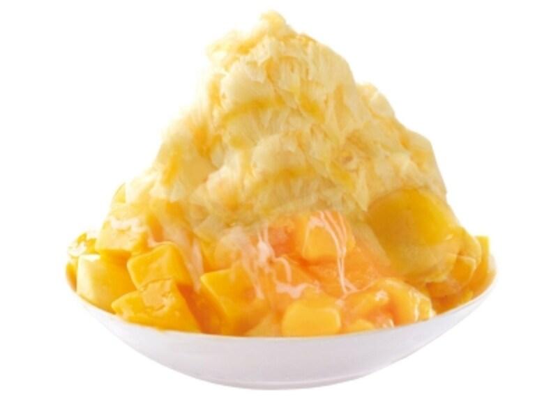 「ICEMONSTER」の「マンゴーかき氷」(税込1,500円)