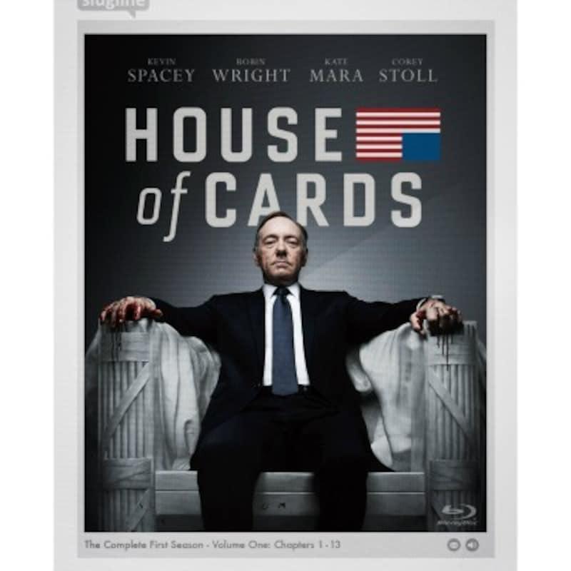 Netflix制作でエミー賞を獲得した伝説のドラマ『ハウス・オブ・カード 野望の階段』