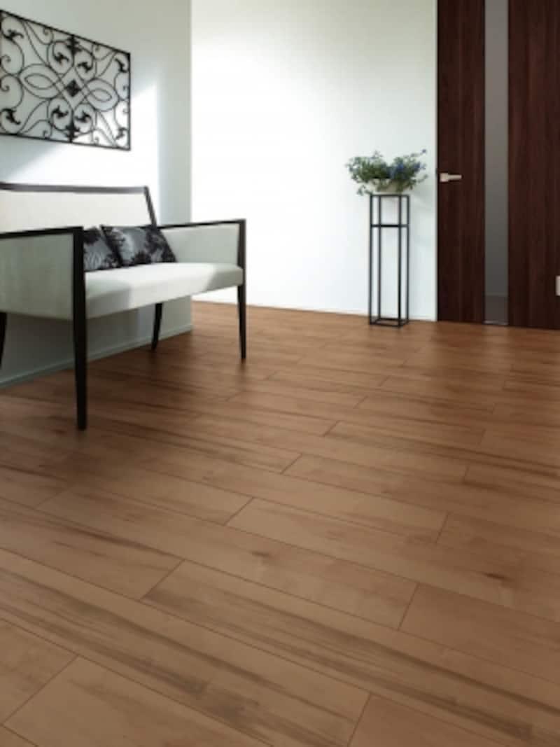 床材「D.フロア直張り防音床」の施工例