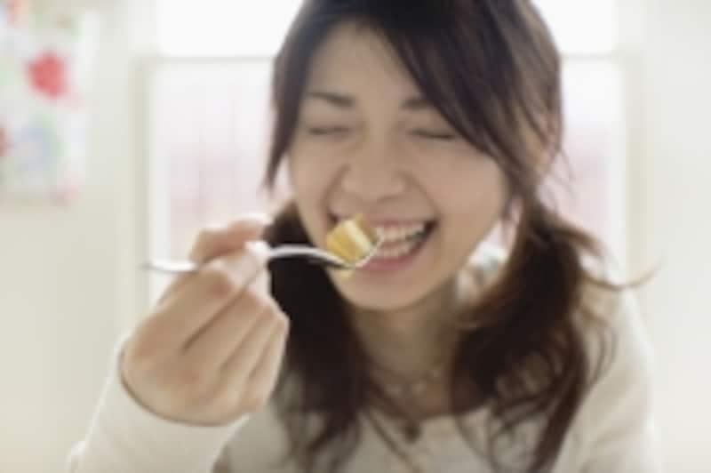 美味しいものを食べたら「美味しい!」って全開に喜んで口にだしましょう!