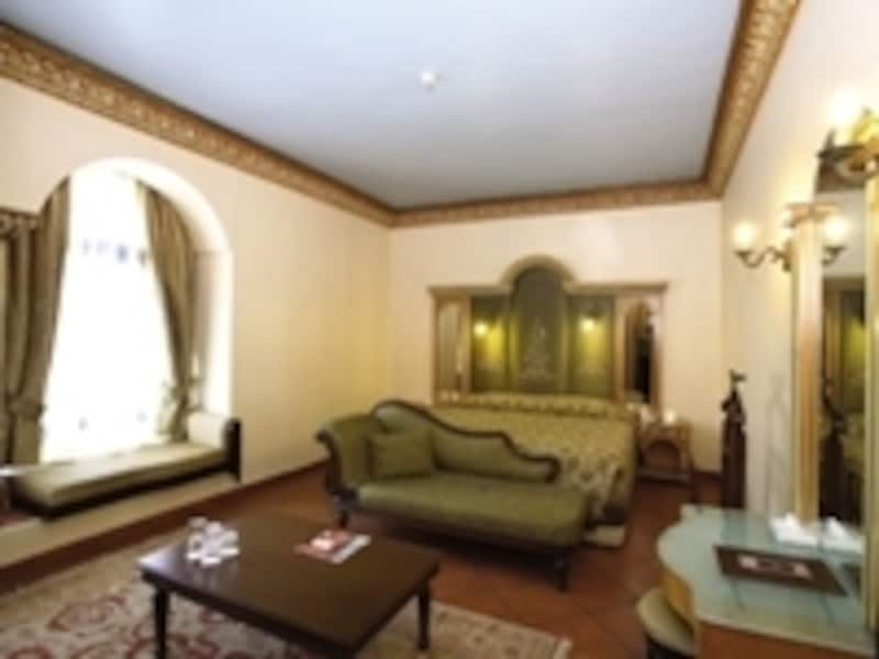 部屋の雰囲気もオスマン調