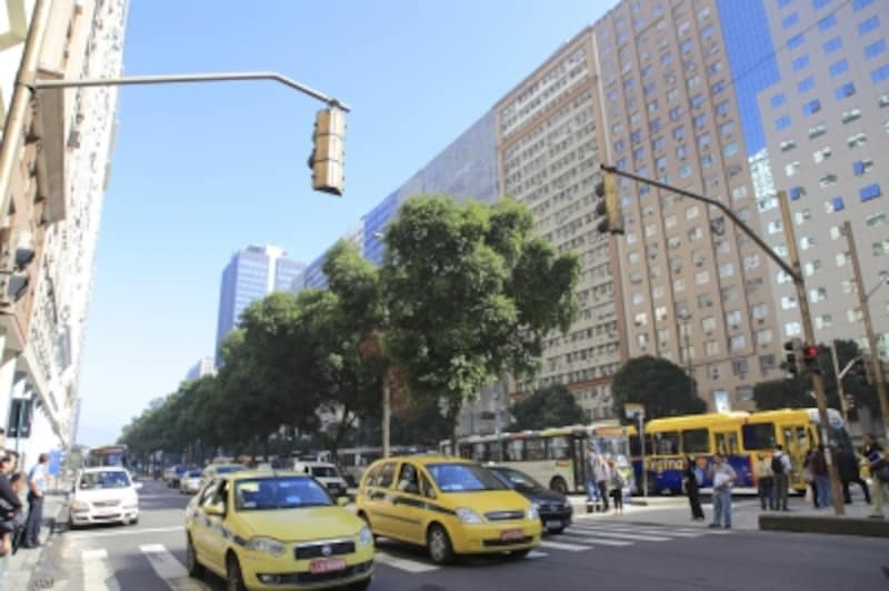 リオデジャネイロは黄色タクシー