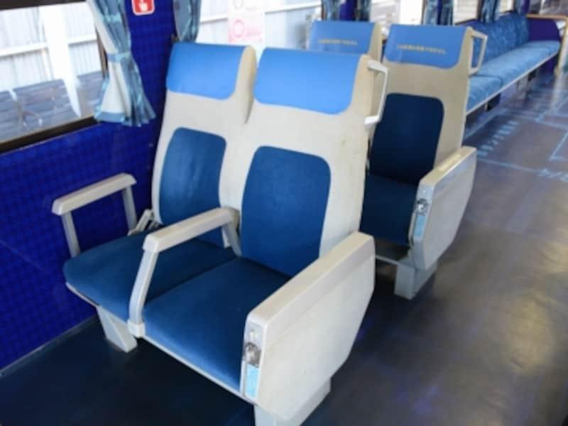 0系新幹線シート