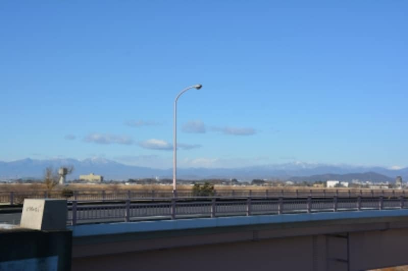 利根川に架かる刀水橋