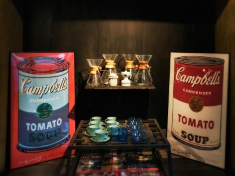 ケメックスのコーヒードリッパーのコレクション