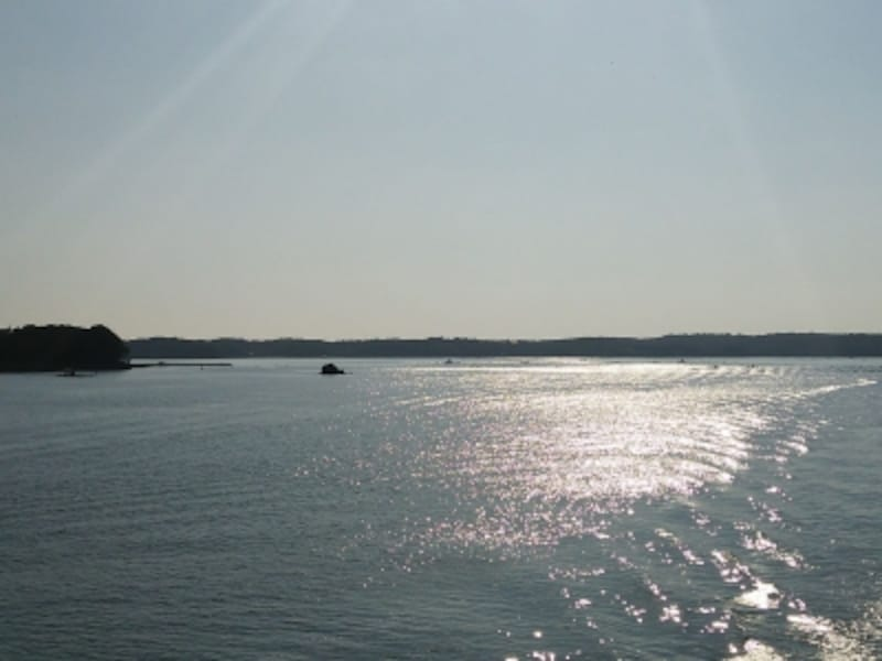 賢島エスパーニャクルーズから眺める英虞湾の風景(1)