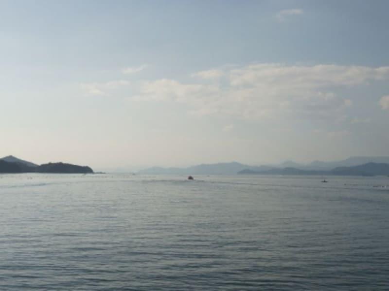 賢島エスパーニャクルーズから眺める英虞湾の風景(4)/熊野灘との接点を望む