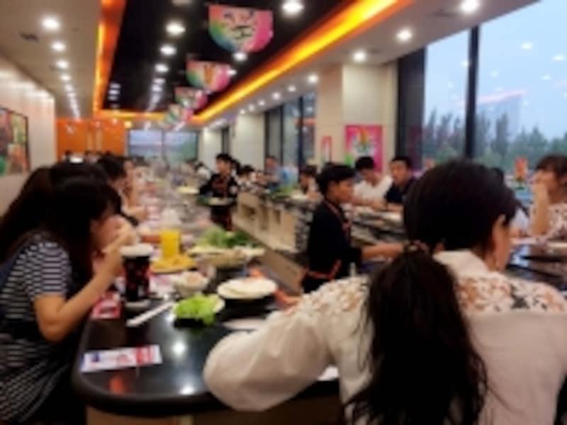 北京B級グルメレストラン「火鍋(呷哺呷哺)」