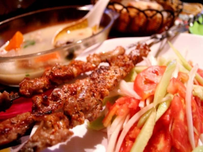 北京B級グルメレストラン「羊肉串(シシカバブー)
