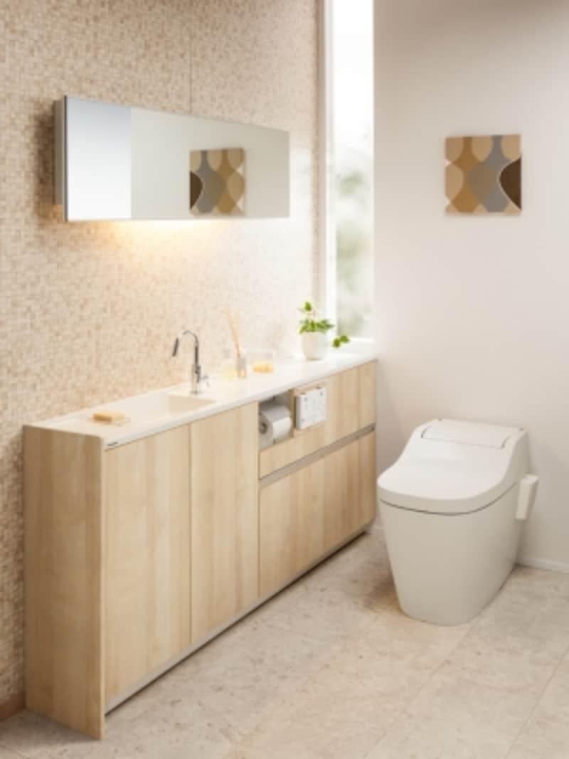 タンクレストイレアラウーノSIIundefined設置イメージ