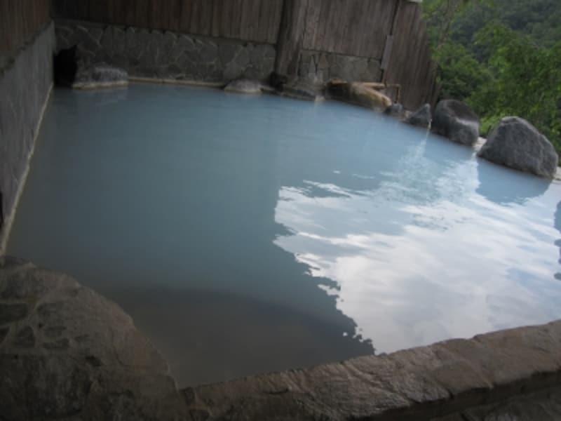 大浴場の露天