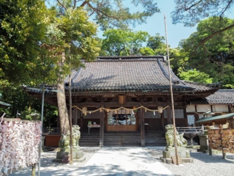 拝殿@石浦神社