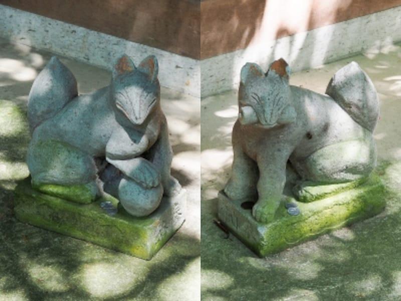 白狐さん@広坂稲荷神社