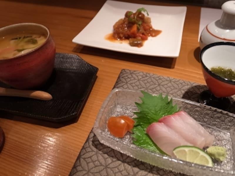 久織亭夕食