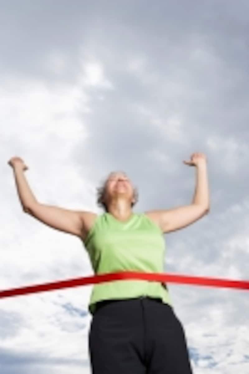 勝利の喜び