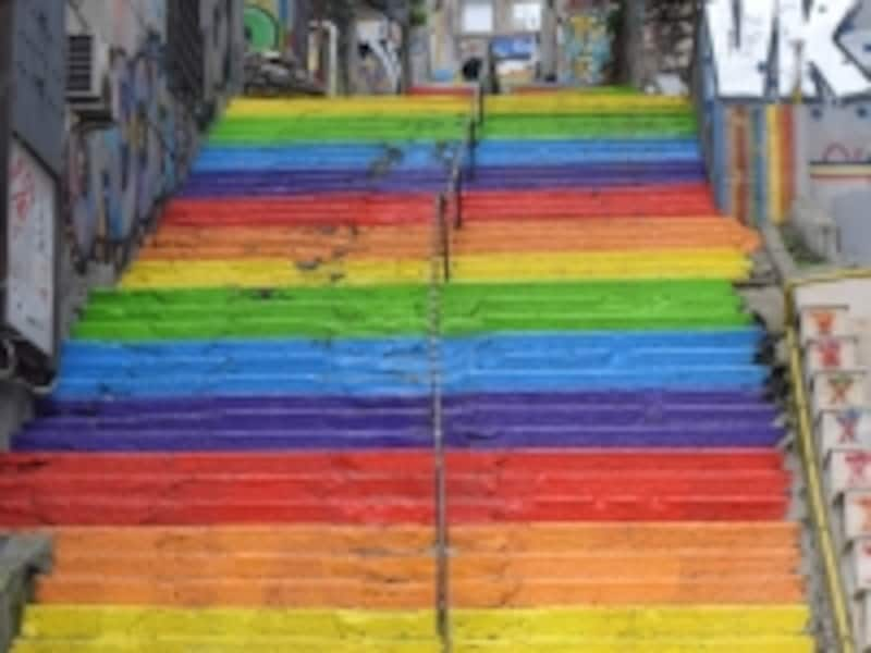 レインボー階段