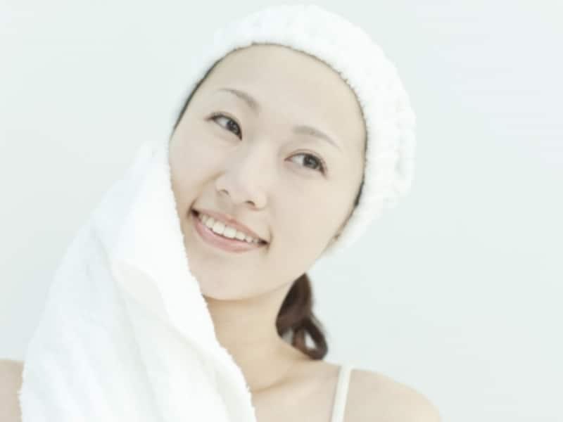 タオルがあればすぐできる!スチーム洗顔