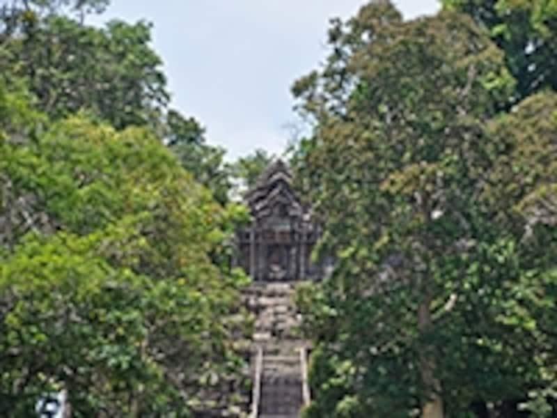 第五塔門から眺める第四塔門