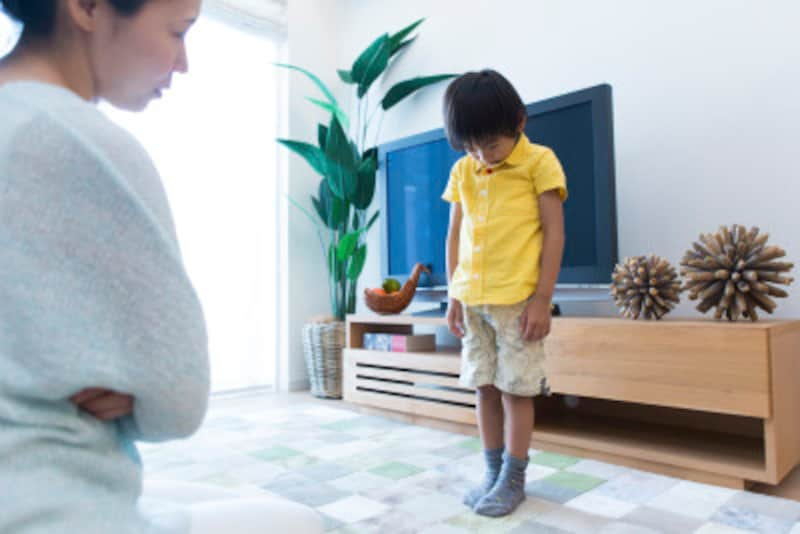 子供への間違った叱り方!言うことを聞かない子どもにむしろ逆効果