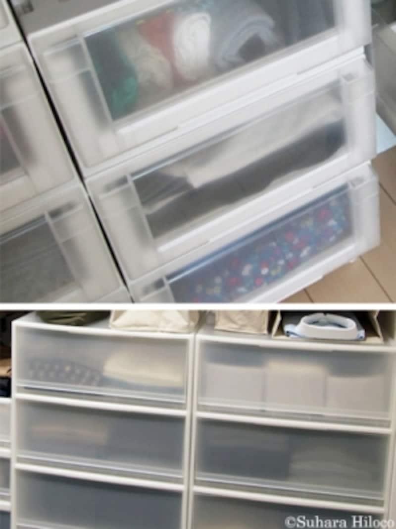 安い&便利な収納グッズ:引き出しケースに衣類収納