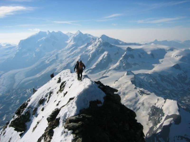 マッターホルン山頂