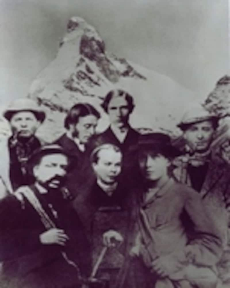マッターホルン初登頂メンバー