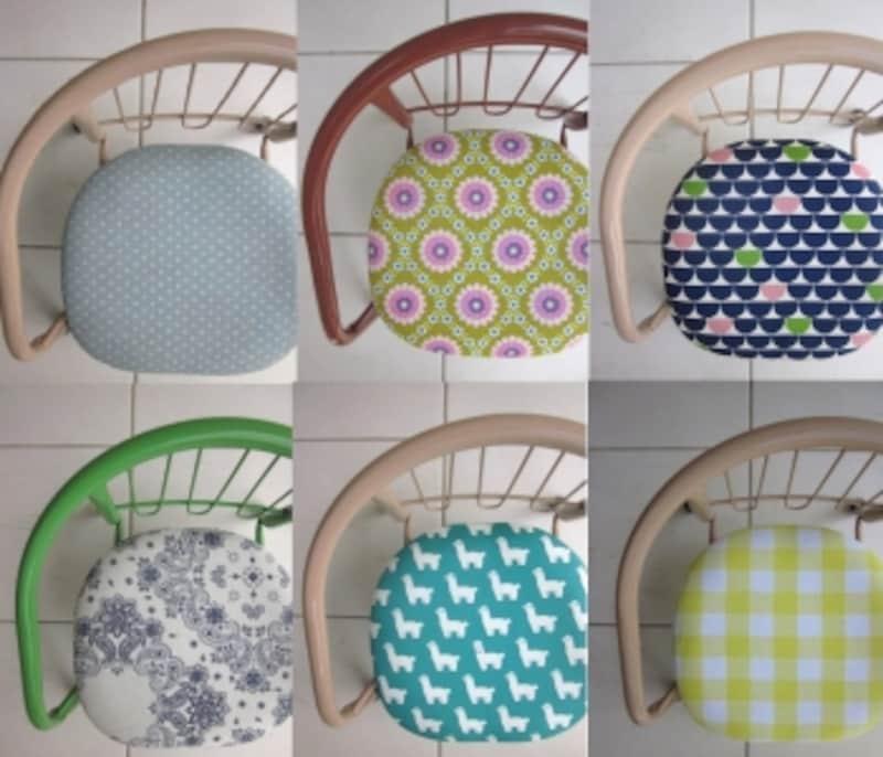 dimdimの豆椅子。デザイン例6脚
