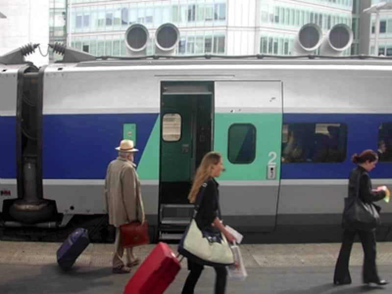 フランスの鉄道は便利なので、大いに活用したい