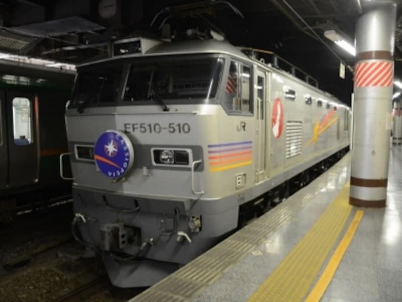 上野駅のカシオペア