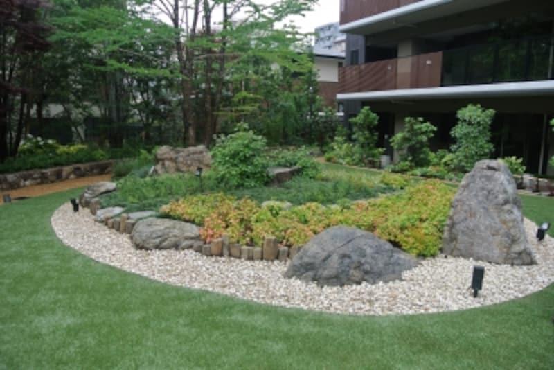 「THEKAHALAundefined小杉陣屋町」の中庭部分