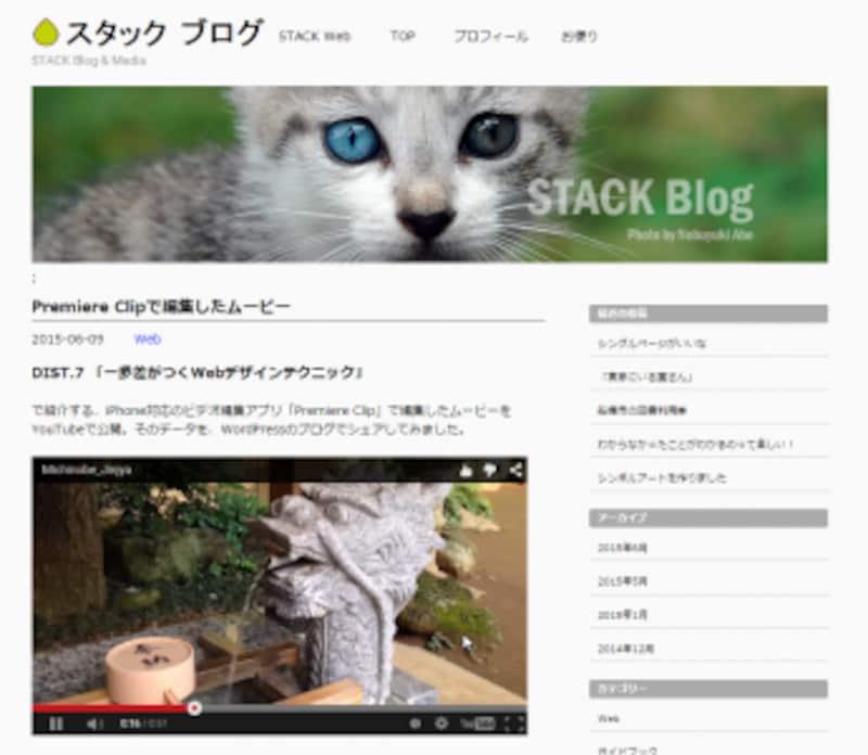 動画を利用するWebサイトが増えた