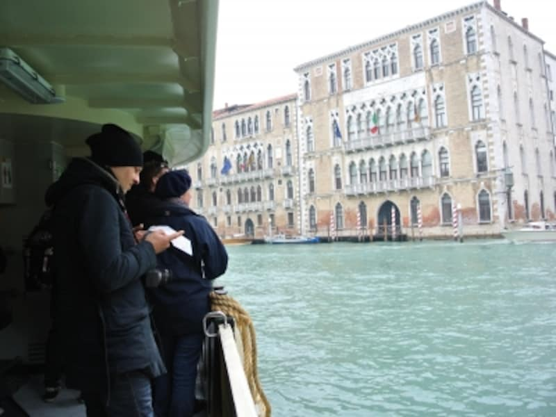 「ヴァポレット」は、ヴェネツィアの足。どこにでも行けます