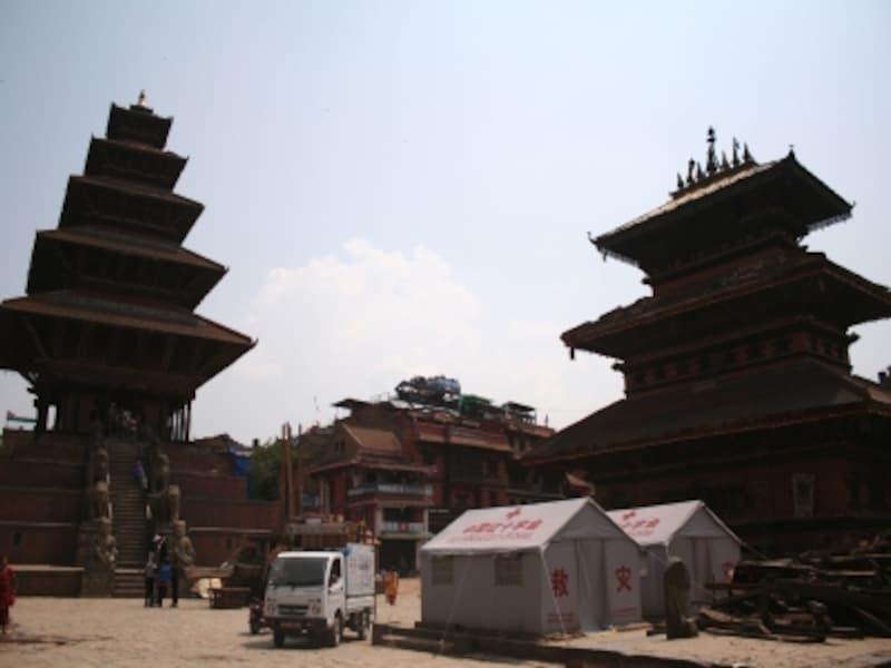 バクタプールundefined五重塔ニャタポラ寺院