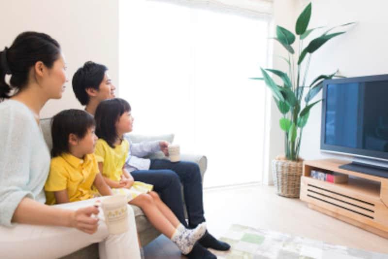 子供のテレビにルールを