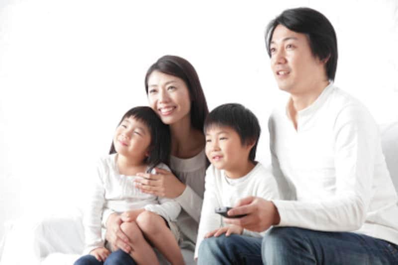 テレビルールは家族全員で決めましょう