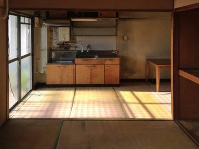 中古マンションのキッチン