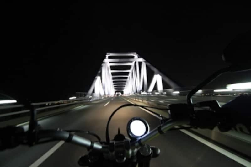 都内のライダーにとって、東京ゲートブリッジは鉄板スポット