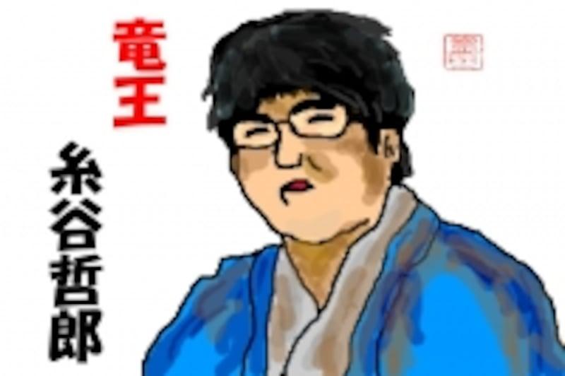 竜王・糸谷哲郎/ガイド画