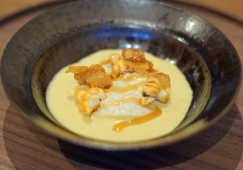 カルナローリ米/トウモロコシ/ココナッツミルク