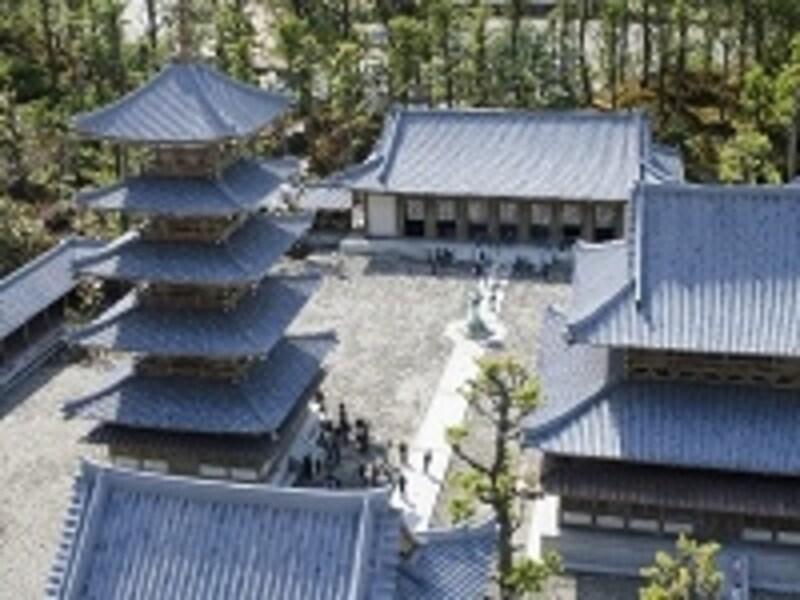 世界でも有数の古い建築物として知られる法隆寺はヒノキ材とのこと