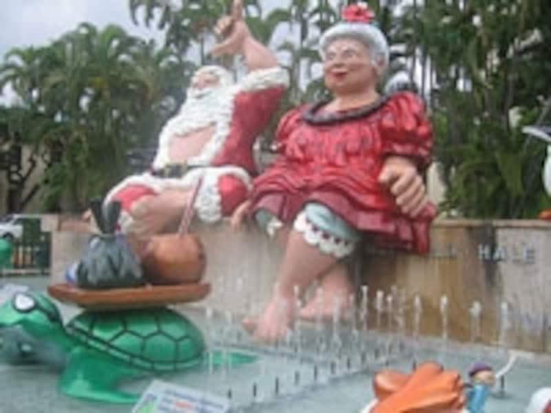 年末年始のハワイは、アメリカのクリスマスと日本式のお正月が両方楽しめる