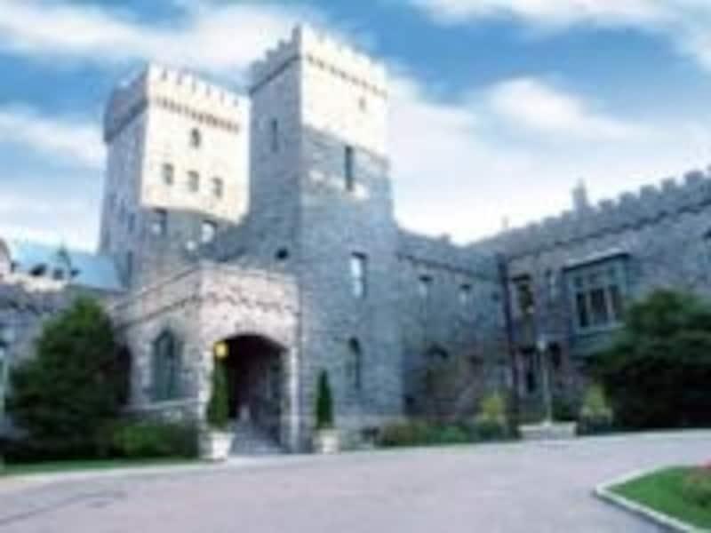 まさにお城そのものな迫力の外観