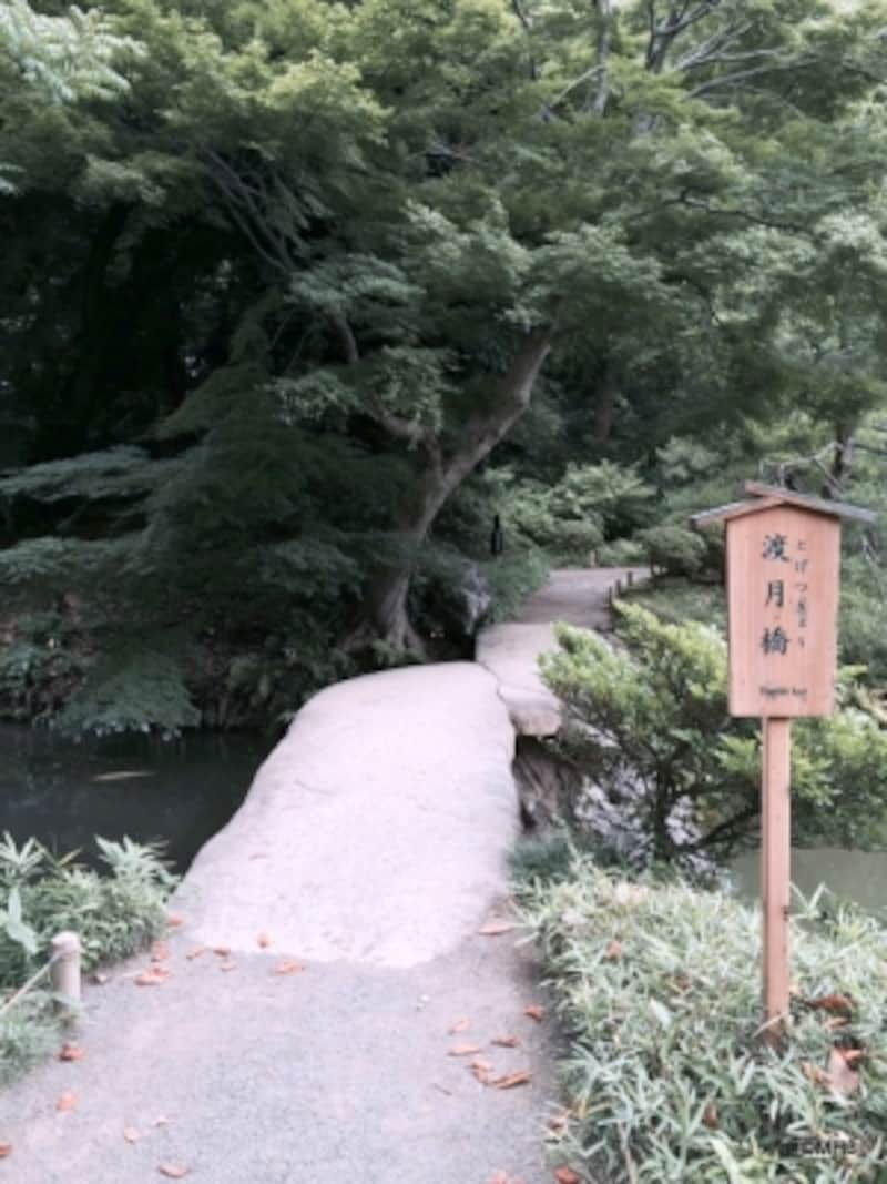 渡月橋(六義園)