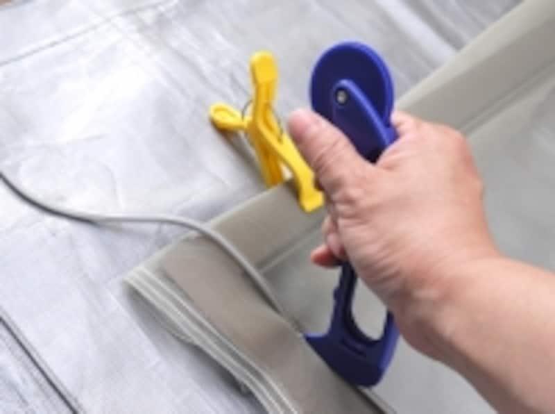 洗濯ハサミを使っています