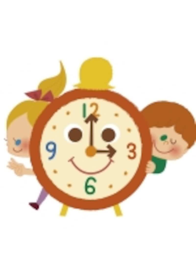 子供に時間感覚を教えるにはどうしたらいい?