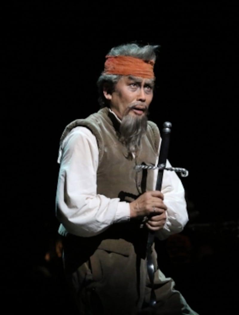 『ラ・マンチャの男』写真提供:東宝演劇部