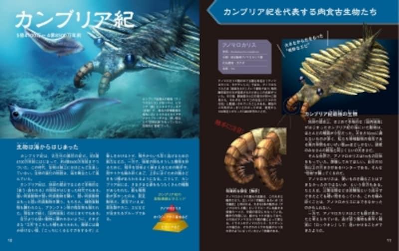 『肉食の恐竜・古生物図鑑』