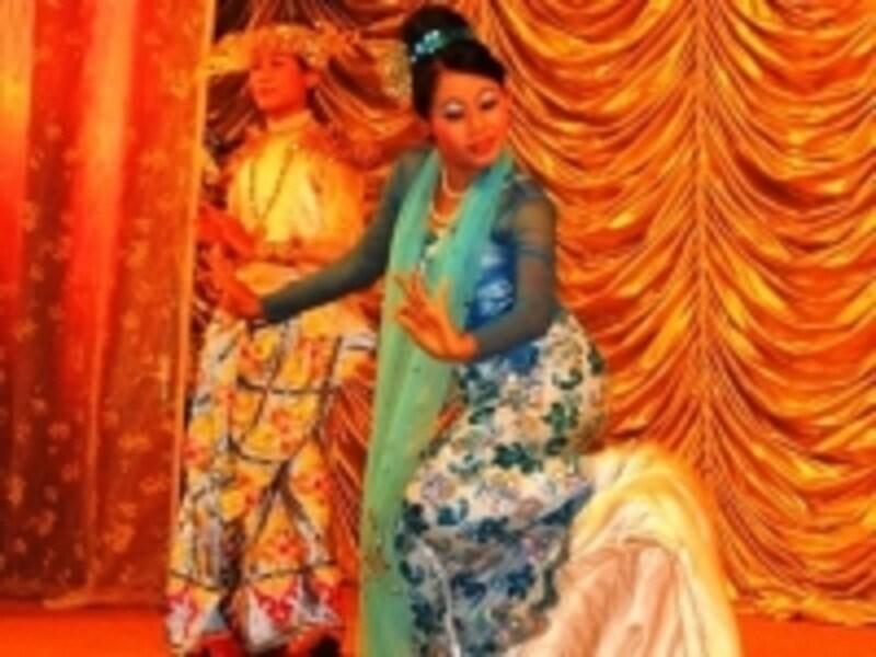 ミャンマーの伝統舞踊